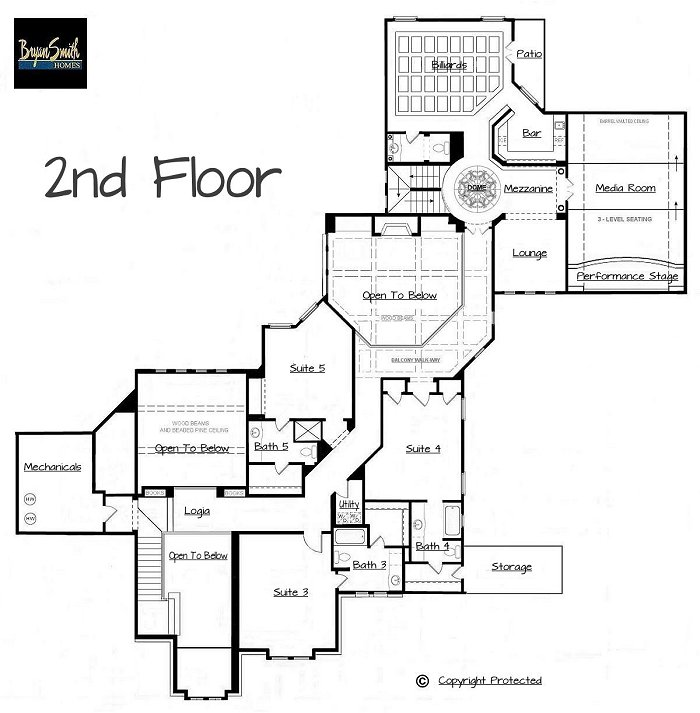 Texas hill country house plans home texas house plans for Floor plans texas