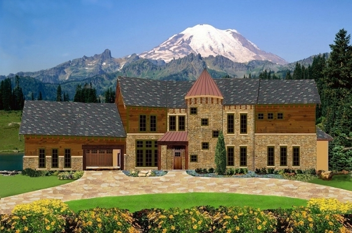 Rustic Mountain Plan 6037