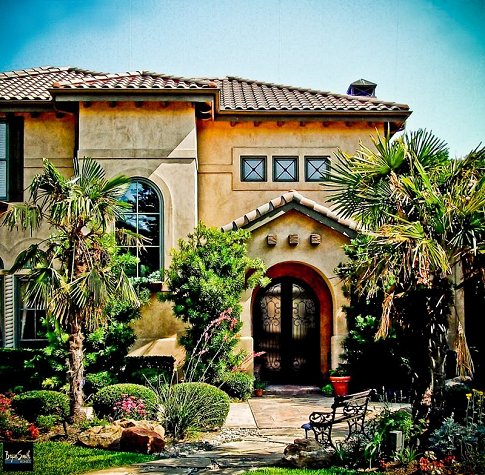 Italian mediterranean villa plan 5960 for Italian villa plans