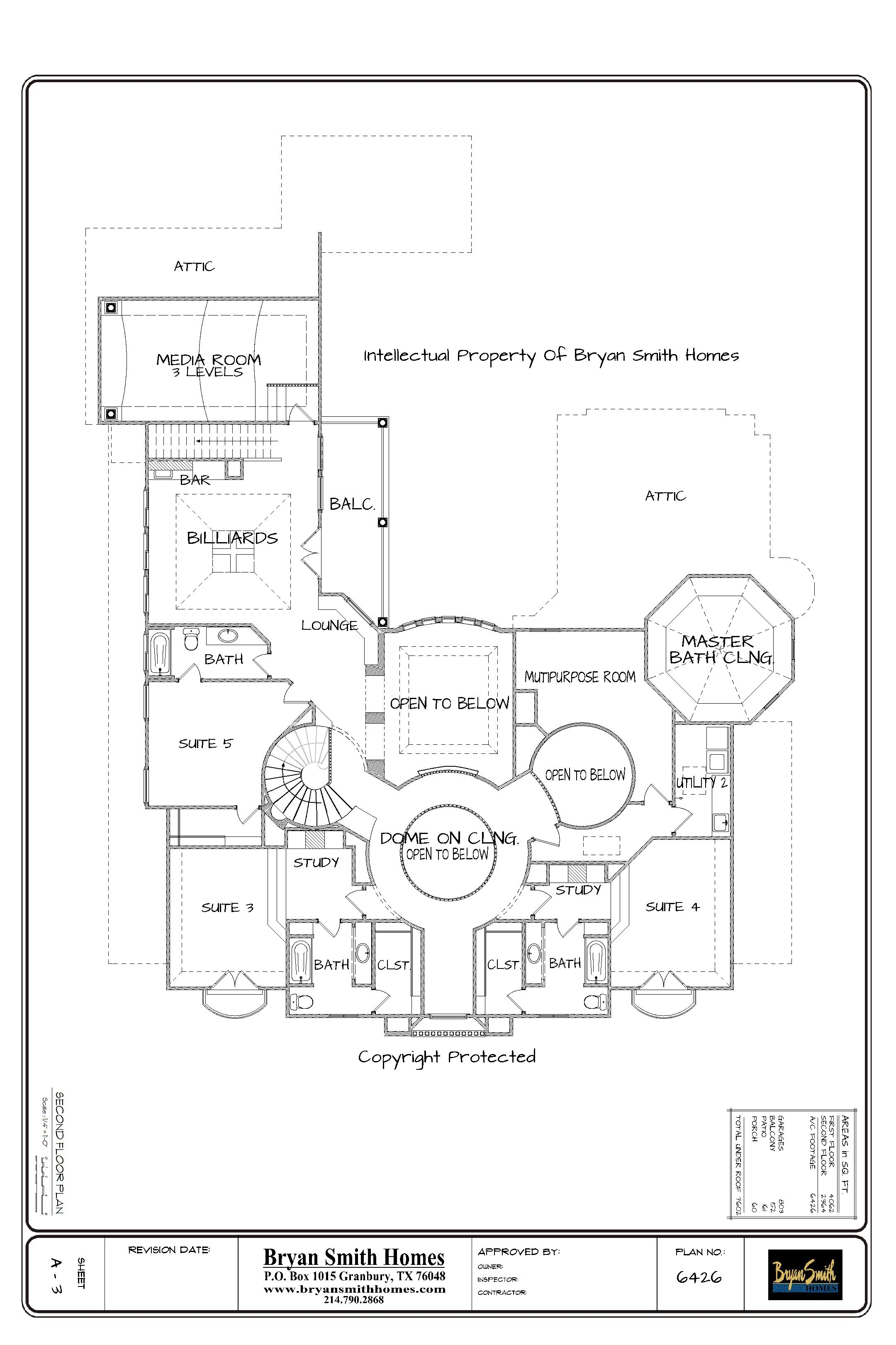 2ND Floor Presentation Sheet - For Website
